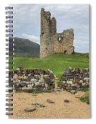 Ardvrek Castle Panorama 0842 Spiral Notebook