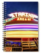 Area 51 Gravitron Spiral Notebook