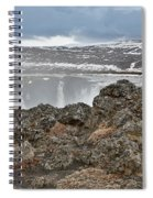 Area By Godafoss Waterfalls, Iceland Spiral Notebook