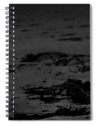 Area Sweep Bw Spiral Notebook