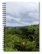 Arenal Lake And Volcano Spiral Notebook
