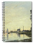 Argenteuil In Late Afternoon Spiral Notebook