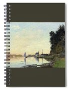 Argenteuil, Late Afternoon Spiral Notebook