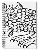 Argus Sea Monster, 1537 Spiral Notebook