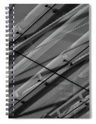Aria Hotel Canopy Abstract Spiral Notebook