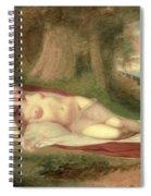 Ariadne Asleep On The Island Of Naxos Spiral Notebook