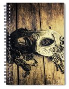 Aristocratic Social Affairs Spiral Notebook