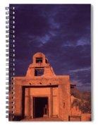 Arizona Adobe Mission Church 1939-2016 Spiral Notebook