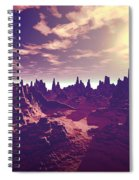 Arizona Canyon Sunshine Spiral Notebook