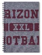Arizona Cardinals Retro Shirt Spiral Notebook