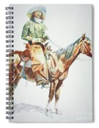 Arizona Cowboy, 1901 Spiral Notebook