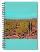 Arizona Desert Nice Place For A Walk Spiral Notebook