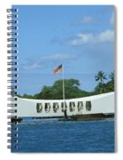 Arizona Memorial Spiral Notebook