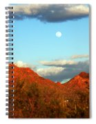 Arizona Moon Spiral Notebook