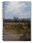 Arizona Rest Stop Spiral Notebook