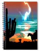 Arizona Skies Spiral Notebook