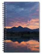 Arizona Sunset 2 Spiral Notebook