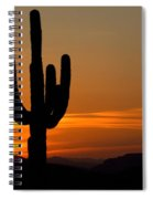 Arizona Sunset 3 Spiral Notebook