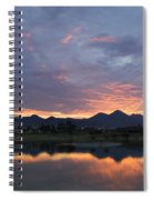Arizona Sunset Spiral Notebook