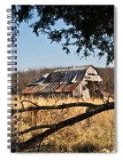 Arkansas Barn 1 Spiral Notebook