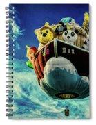 Arky  Noah's Ark Spiral Notebook