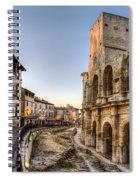 Arles Streets And Arena Spiral Notebook