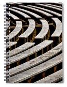 Arlington Cemetery Amphitheater Benches #2 Spiral Notebook