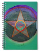 Arlington Green Spiral Notebook