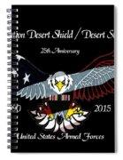 Armed Forces Desert Storm Spiral Notebook