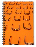 Army Of Nerd Glasses Spiral Notebook