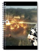 Army Of Two Spiral Notebook