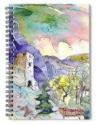 Arnedillo In La Rioja Spain 03 Spiral Notebook