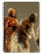 Arnold Classic Brazil 2015 In Rio De Janeiro  Spiral Notebook