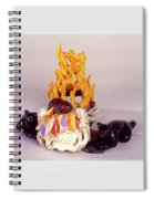 Aromatherapy Angels Spiral Notebook