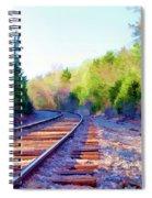 Around The Bend Spiral Notebook