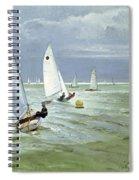 Around The Buoy Spiral Notebook