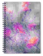 Arrangement In Plaid Spiral Notebook