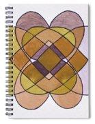 Arrangement Of Forms Spiral Notebook