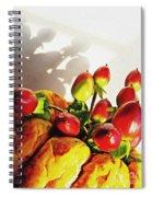 Arrangement On Squash 3 Spiral Notebook