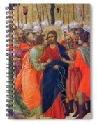 Arrest Of Christ Fragment 1311 Spiral Notebook