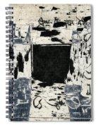 Arrhythmic Number Three Spiral Notebook