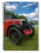 Arriving In Style Spiral Notebook