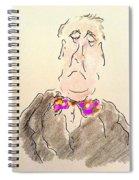 Arrogance Spiral Notebook