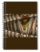 Arrowhead Feather Spiral Notebook