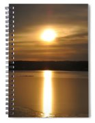 Arrowhead Lake Sunrise Spiral Notebook