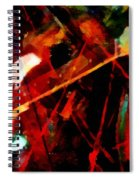 Art And Music Painting Spiral Notebook