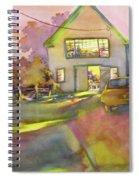 Art Barn, Port Clyde Spiral Notebook