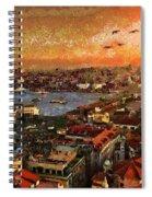 Art Beautiful Views Exist Fragmented Spiral Notebook