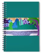 Art Colony Spiral Notebook