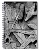 Art Deco 7 Spiral Notebook
